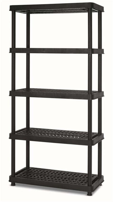 5 Tier Shelf Unit by Keter 18 5 Tier Shelf Unit