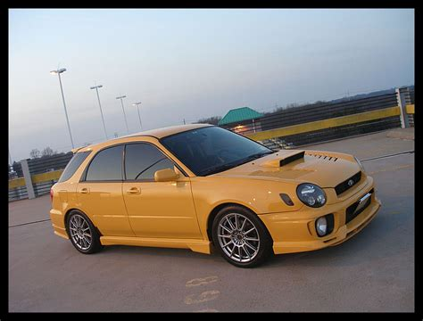 yellow subaru wagon for sale 2003 sonic yellow wrx sti wagon ta