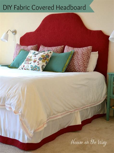 Diy Fabric Covered King Size Headboard Hometalk How To Make A Fabric Covered Headboard