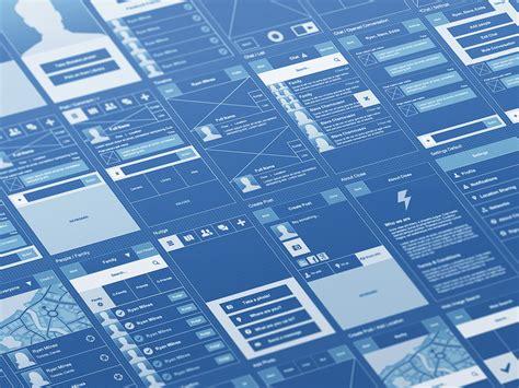 blue print software mobile blueprint ui prototyping