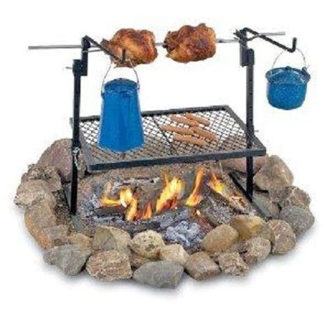 backyard rotisserie texsport rotisserie spit grill outdoor fire pit cooking grill