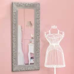 miroir en bois beige h 130 cm ali 201 nor maisons du monde
