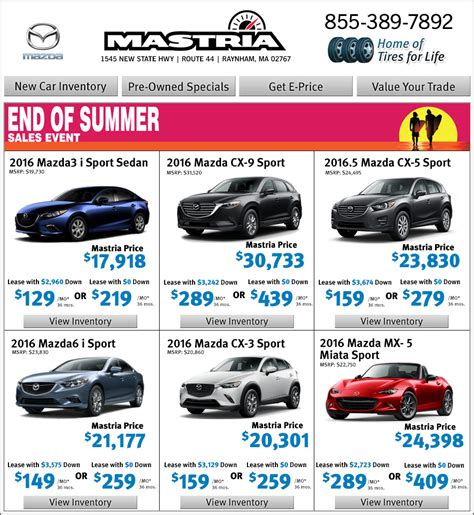boston mazda dealers boston shop mastria mazda dealer new car offers