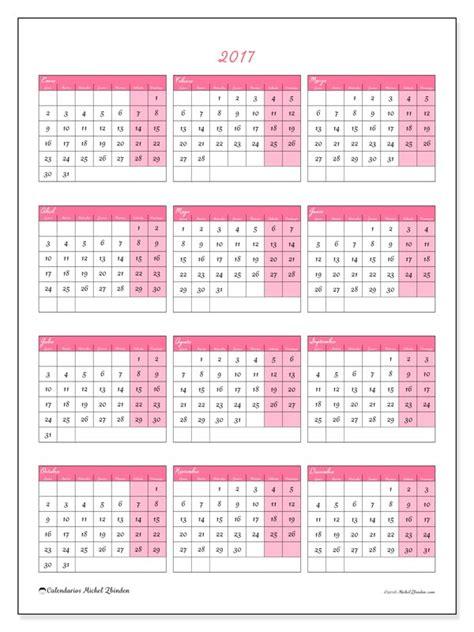 gratis calendarios para 2017 para imprimir invierno