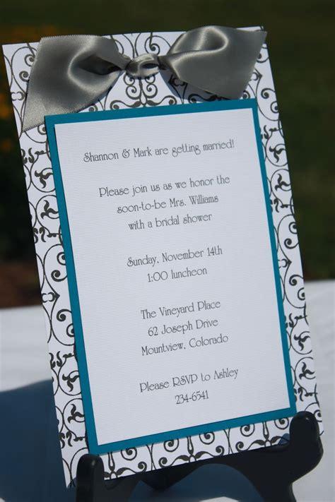 Handmade Bridal Shower Invitations - 25 best ideas about invitations on