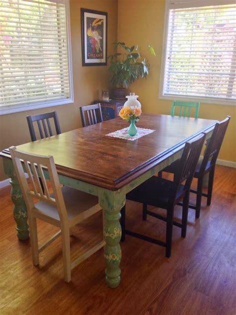 Thrift Store Dining Table Cinnamon Interiors Diy Refinishing A 60 Thrift Store Dining Table Diy