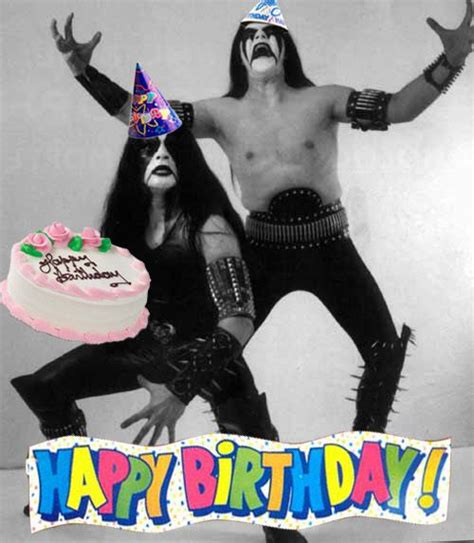 Heavy Metal Birthday Cards Black Metal Birthday Card Holiday Pinterest Metals