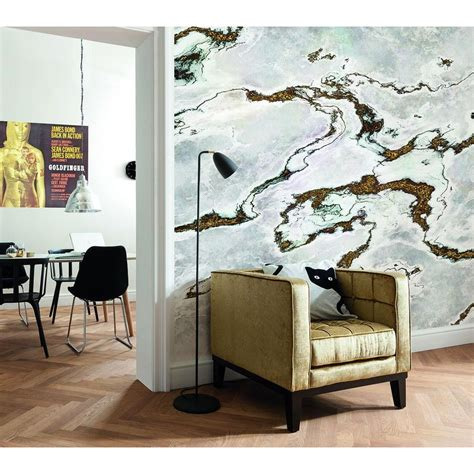 komar wall mural komar 100 in h x 145 in w marmoro wall mural 8 981 the