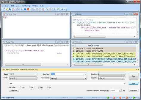 serial port monitor software tools for hardware debugging mbed