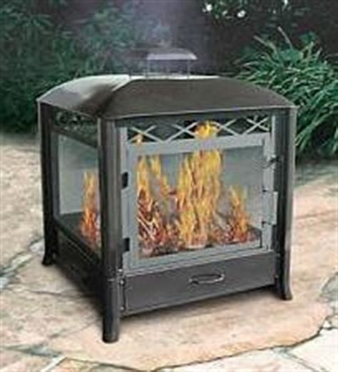 freestanding outdoor fireplace interior exterior doors