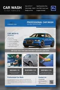 auto detailing flyer template car wash flyer templates