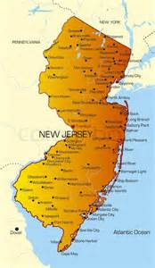 new jersey colors pin colorful usa map with state outlines on