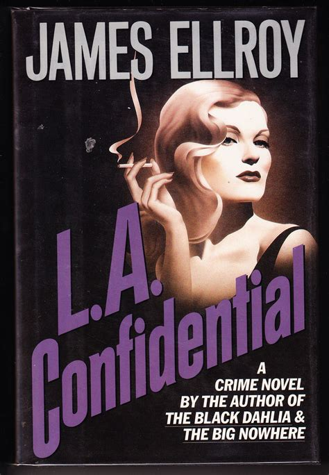 Novel Import La Confidential l a confidential by ellroy edition 1990 from iron engine and biblio