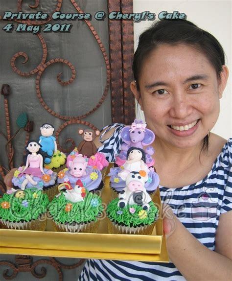 kue ulang  anak cupcake birthday cake kursus
