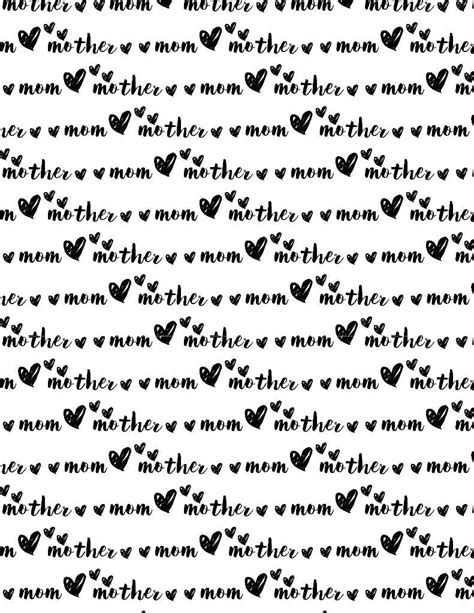 printable wrapping paper mother s day free printable wrapping paper for mother s day play
