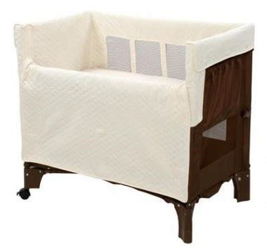 Arms Rest Co Sleeper by Arm S Reach Co Sleeper Mini Convertible Bassinet In Cocoa