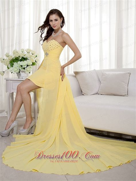 Dress Sweet Two Color Mix Import Premium Quality front back beading prom evening dress prom dresses