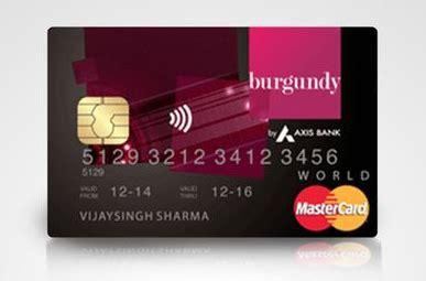 make axis bank credit card payment axis bank burgundy world debit card review cardexpert