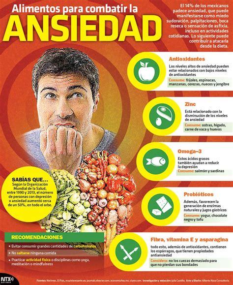 alimentos para la ansiedad alimentos para combatir la ansiedad salud bienestar