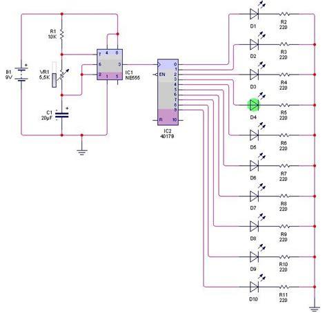Lu Led Kecil Motor rangkaian led menggunakan resistor 28 images rangkaian