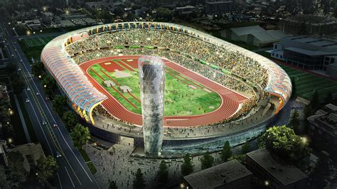 uo announces massive renovation  hayward field