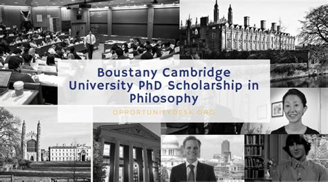 Lyondellbasell Cambridge Mba Scholarship by Boustany Cambridge Phd Scholarship In