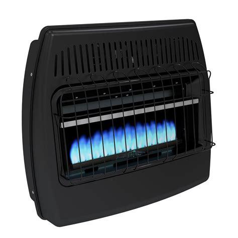 30000 Btu Garage Heater by Dyna Glo 30 000 Btu Blue Vent Free Dual Fuel Garage
