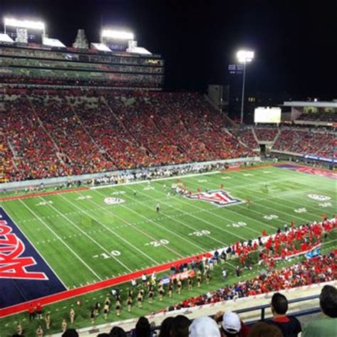 Section 8 In Tucson Arizona by Arizona Stadium Check Availability 76 Photos 26 Reviews Stadiums Arenas Tucson Az