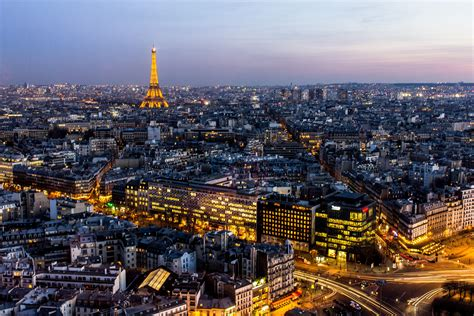 paris france night eiffel tower long exposure city