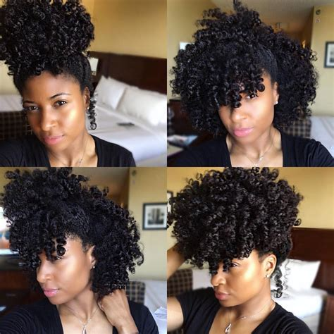 Rod Set Hairstyles by Jori Chioma Wearing A Perm Rod Set Hairstyles For