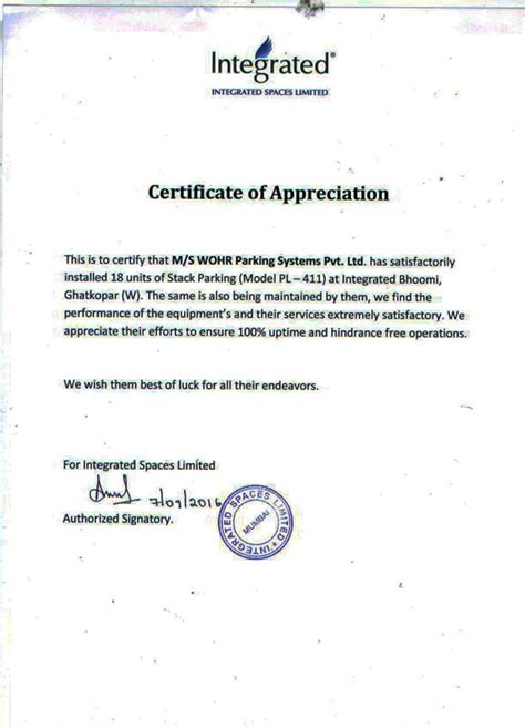 appreciation letter for business analyst appreciation letters