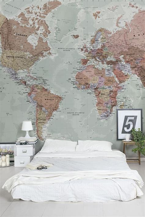 world map in bedroom 25 best ideas about world map wallpaper on pinterest