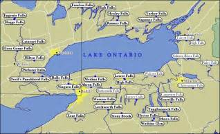 map of lake ontario waterfalls