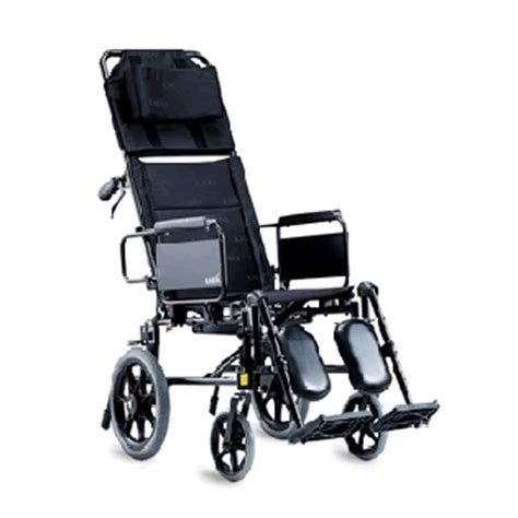 reclining transport chair karma km5000 reclining wheelchair pinang medical