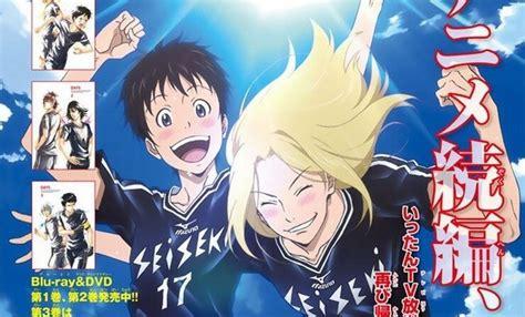 film anime sepakbola terbaik shonen magazine umumkan anime olah raga days akan