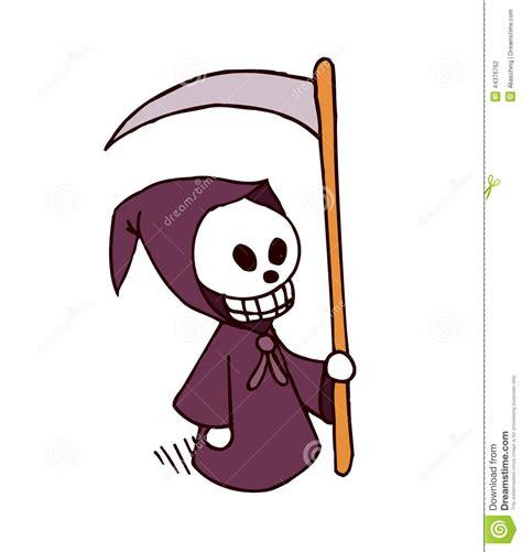 imagenes de halloween de la muerte personaje de dibujos animados de la muerte ilustraci 243 n del