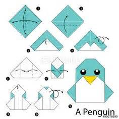 Easy Penguin Origami - origami for beginners origami for beginners kid