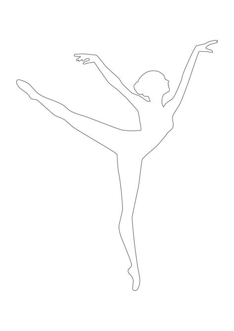 Ballerina Template diy snowflake ballerina ornament ra ra superstar