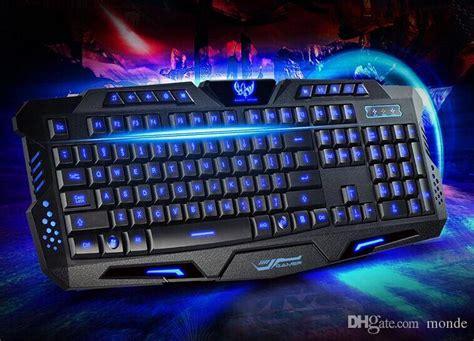 Keyboard Gaming 200 Ribuan hk m200 gaming keyboard tri color backlit keyboard 19