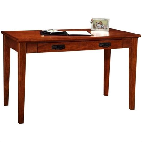 Leick Furniture Boulder Creek Mission Laptop Writing Desk Mission Desk