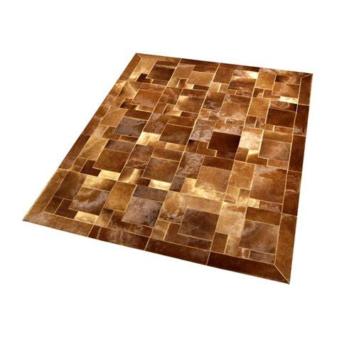 Light Brown Crossword by Modern Cowhide Rug Bay Brown Baio Puzzle Fur Home