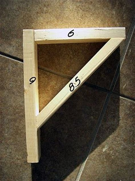 Building Shelf Supports by Diy Easy Shelves And Brackets I Want To Make