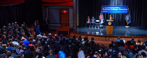 new york free tuition governor cuomo kicks off excelsior scholarship caign to