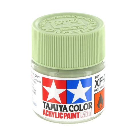 tamiya acrylic paint xf tamiya colour acrylic paint xf 21 sky 10ml hobbycraft