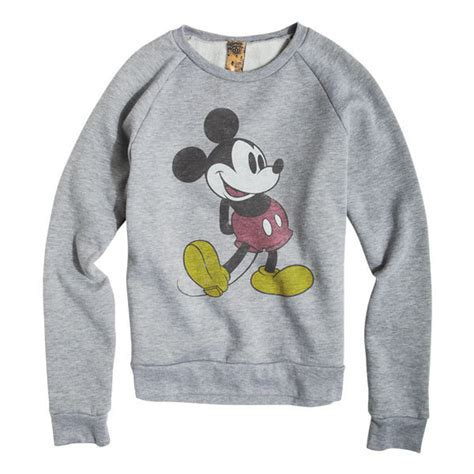 Sweater Mickey Mouse classic mickey mouse sweatshirt polyvore