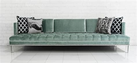 Www Roomservicestore Com Down With Love Sofa In Tufted Aqua Tufted Sofa