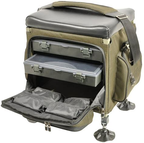 fishing boxes with seat tfg compact tackle seat box glasgow angling centre