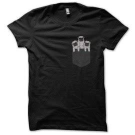 pug noir shirt chiens serishirts