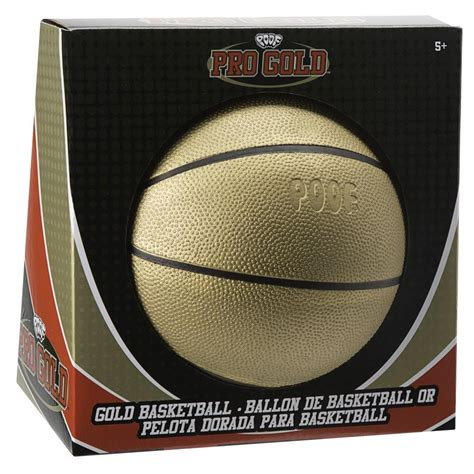 Pro Gold poof pro gold gold basketball alexbrands