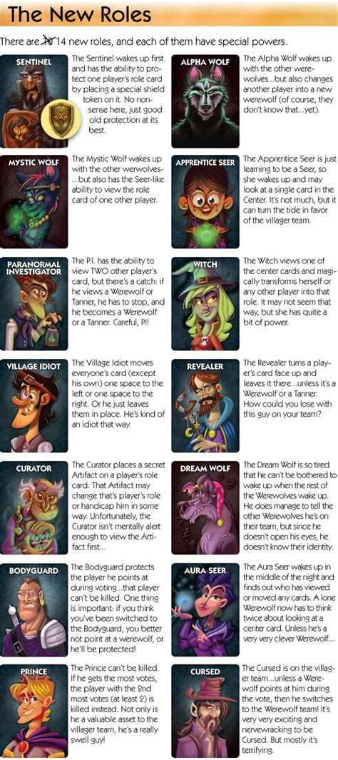 ultimate werewolf printable cards 17 best ideas about werewolf card game on pinterest